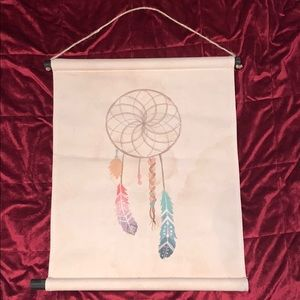 Hanging dream catcher canvas wall art tapestry
